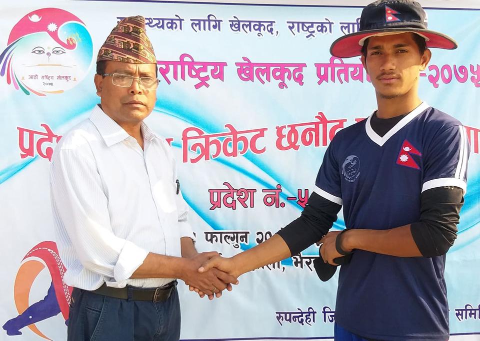 प्रदेशस्तरीय टी–२० क्रिकेट छनोट : बाँके र रुपन्देही फाइनलमा
