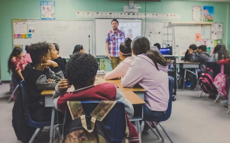 English medium classes in community school attracts students