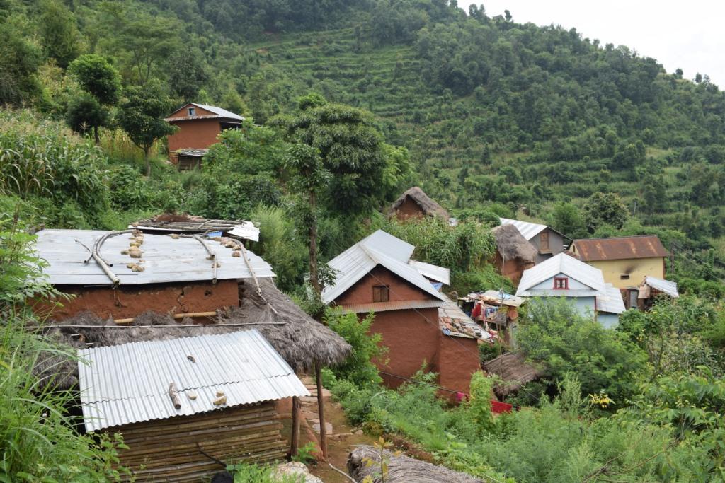 एउटा दलित बस्ती, जसले सीमा विवादका कारण लालपूर्जा पाएन