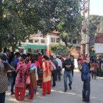डाक्टरको लापरवाहीले बिरामीको मृत्यु भएको भन्दै लुम्बिनी प्रादेशिक अस्पतालमा धर्ना