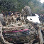 कालिन्चोकबाट भक्तपुर आउँदै गरेको बस दुर्घटना हुदा मृत्यु हुनेको संख्या१४ पुग्यो