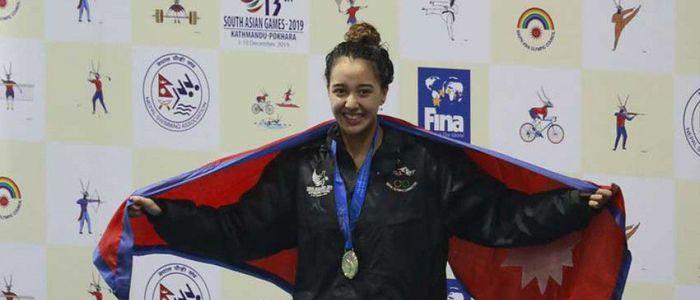 गौरिकाको कीर्तिमान : चार स्वर्णसहित ९ पदक