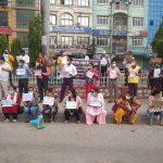 पश्चिम रुकुमकोमा भएको नरसंहार विरुद्ध बुटवलमा प्रदर्शन